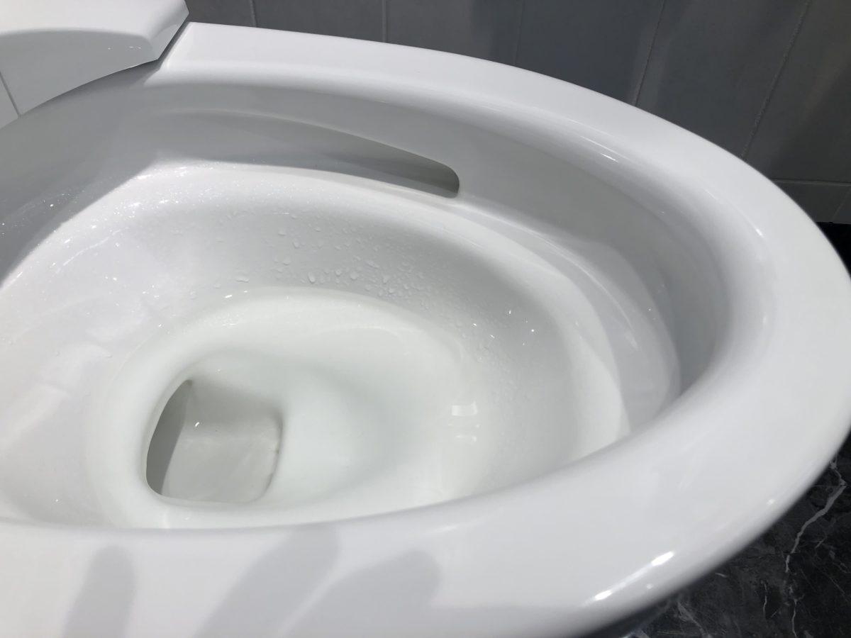 【宇治市のトイレリフォーム】TOTO「GG800」のご紹介|汚れの付着を防ぐ衛生陶器