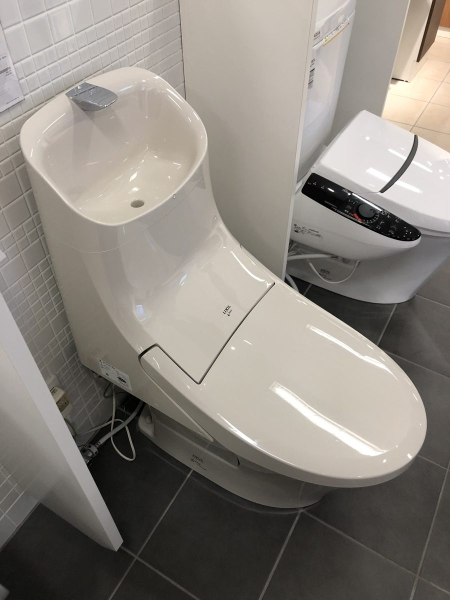 【宇治市のトイレリフォーム】LIXIL「アメージュZA」をご紹介|広い手洗いボウルで日々のお手洗いがより快適に